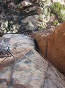 Rock Climbing Photo: Crimson C 1st pitch