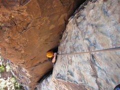 Rock Climbing Photo: Crimson C 1st pitch