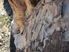 Rock Climbing Photo: Crimson Chrysalis 1st pitch