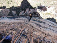 Rock Climbing Photo: Crimson Chrysalis 3rd pitch