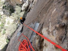 Rock Climbing Photo: lotta balls pitch 1