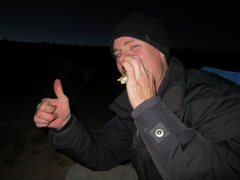 Rock Climbing Photo: Nelson with a smore