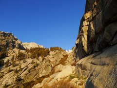 Rock Climbing Photo: early morning light on the approach