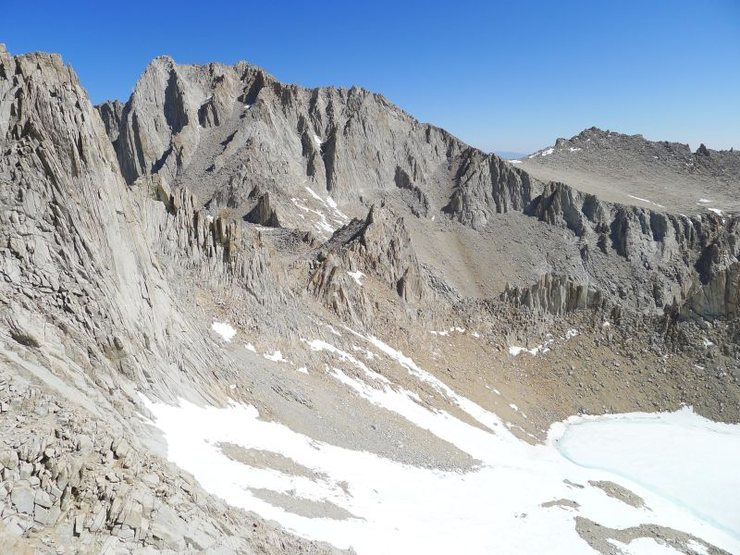 Rock Climbing Photo: another photo of Fishhook and the East Arete from ...