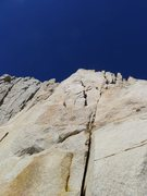 Rock Climbing Photo: flakes around P4/5