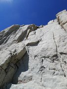Rock Climbing Photo: second 5.7 section