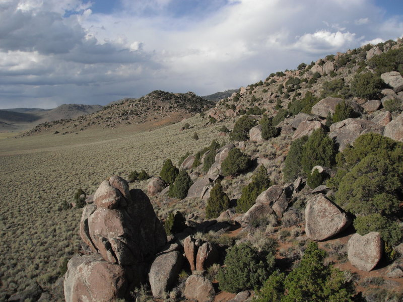 Rock Climbing Photo: View from a boulder in The Galaxy; plenty of excel...