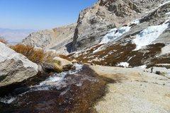 Rock Climbing Photo: run-off