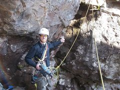 Rock Climbing Photo: Time to put the drill away after climbing up and s...