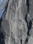 Rock Climbing Photo: The last pitch as seen from Bugaboo Spire