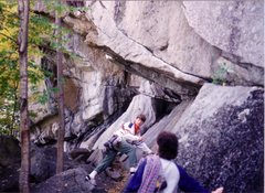 Rock Climbing Photo: Molson's Madness back in October 1988. It's the cl...