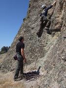 Rock Climbing Photo:  noal starting route