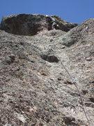 Rock Climbing Photo:  noal below headwall