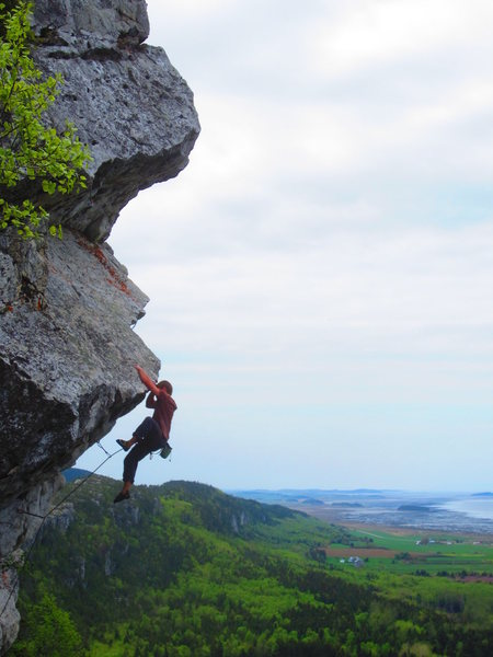Rock Climbing Photo: Moby dick 5.11-