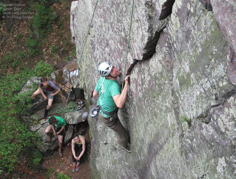 Rock Climbing Photo: Michael Sullivan