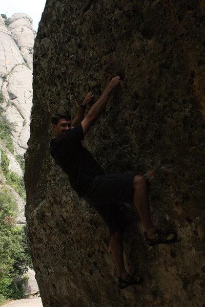 Rock Climbing Photo: Montserrat Boldering 1