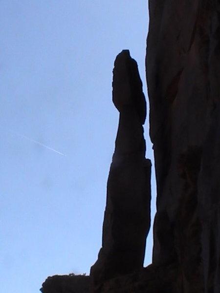 Rock Climbing Photo: spear of destiny tower