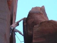Rock Climbing Photo: taylor on the ffa