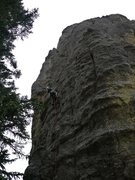 Rock Climbing Photo: Photo is a little dark but shows you can climb str...