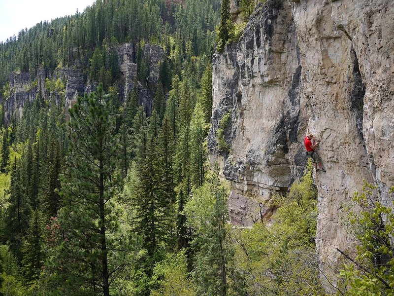 Rock Climbing Photo: I don't have a photo of this route but it's just t...