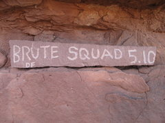 Rock Climbing Photo: your on the Burte squad? YOUare the Brute squad!