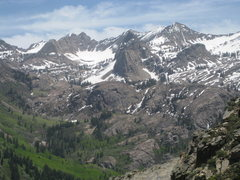 Rock Climbing Photo: From the top of the slab, hike a few hundred feet ...