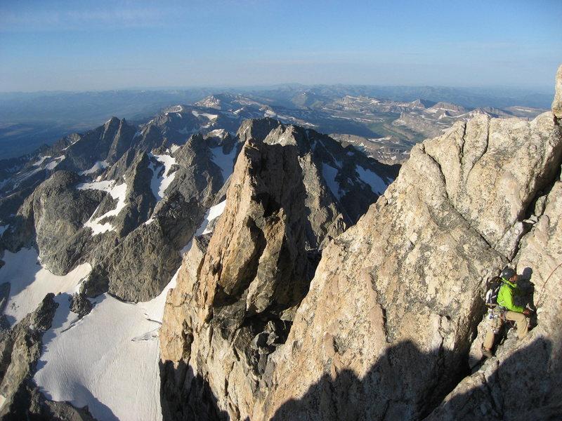 Rock Climbing Photo: Grand Teton, 2011