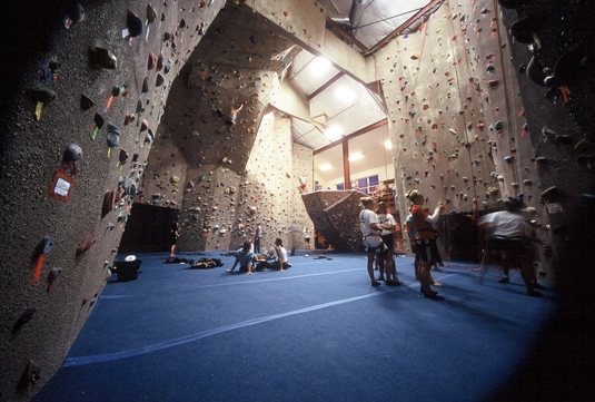 Rock Climbing Photo: Spire Climbing Center Main Room