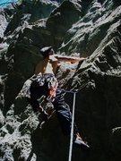 Rock Climbing Photo: 5.10a possibly