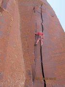 Rock Climbing Photo: summer macking it..