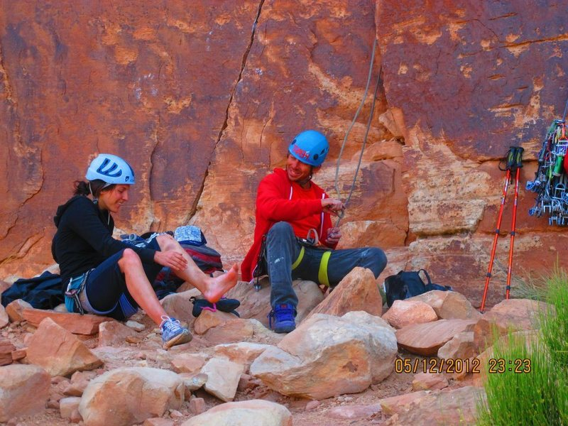 Rock Climbing Photo: kate