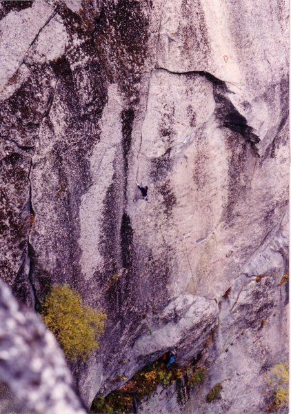 Rock Climbing Photo: I've never climbed it, but I believe this is Touri...