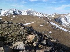 Rock Climbing Photo: Mount Columbia