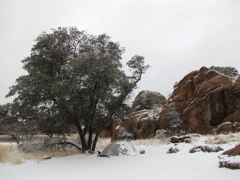 Cochise Stronghold, west<br>