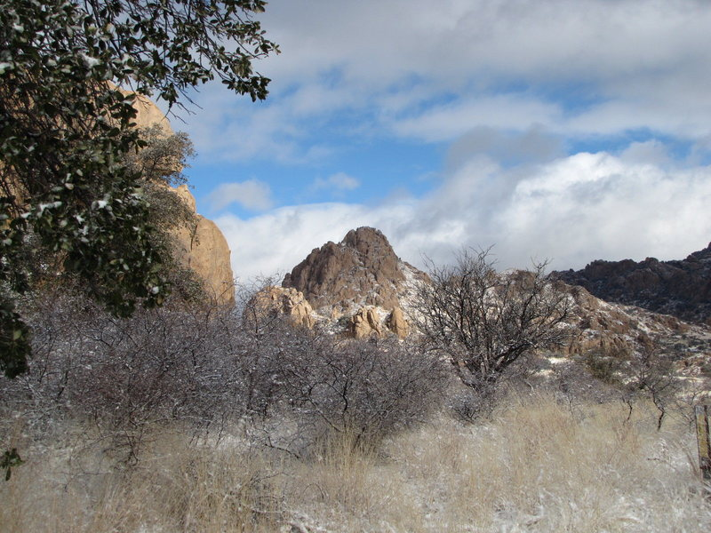 Cochise Stronghold, west