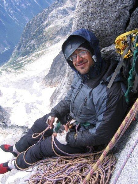 Rock Climbing Photo: me on the becky chionard
