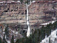 Rock Climbing Photo: Cascade Falls close up on Saturday, January 28, 20...