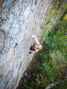 Rock Climbing Photo: Climbing at Toddler Terrace. Easy climbing on this...