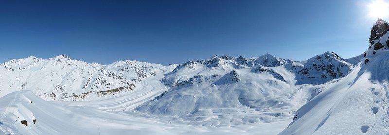 Rock Climbing Photo: Peaks of the Castner Glacier
