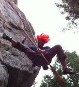 Rock Climbing Photo: Halloween craggin'.