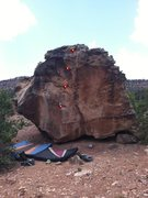 Rock Climbing Photo: Beta for Cask of Amontillado.