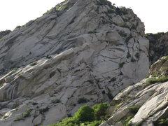 Rock Climbing Photo: gargoyle wall gully