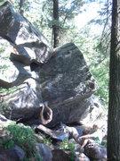 Rock Climbing Photo: Ian on the match.