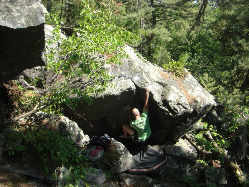 Mr. Mix giving it a send.