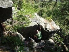 Rock Climbing Photo: Mr. Mix giving it a send.