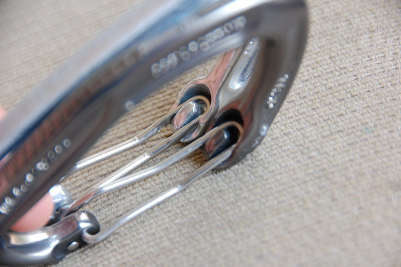Rock Climbing Photo: Wire Nose profile comparison.  WC is Polished, DMM...