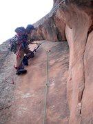 Rock Climbing Photo: rivet section