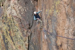 Rock Climbing Photo: Taken from the belay after the traverse, awesome p...