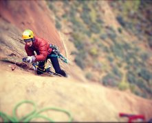 Rock Climbing Photo: Daniel Thrasher