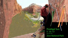 Rock Climbing Photo: Shot I stitched together from John's pics. John As...
